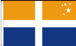 5ft x 3ft Isles of Scilly Flag - Scilly Isles Flag - Flags Sent from Cornwall